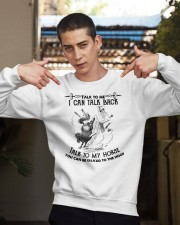 Talk To My Horse Crewneck Sweatshirt apparel-crewneck-sweatshirt-lifestyle-04