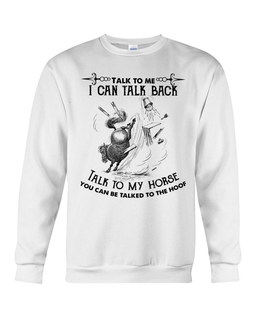 Talk To My Horse Crewneck Sweatshirt