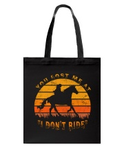 You Lost Me Tote Bag thumbnail
