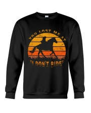 You Lost Me Crewneck Sweatshirt thumbnail