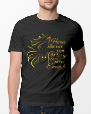 Horses Are Like Fine Wine Classic T-Shirt lifestyle-mens-crewneck-front-13