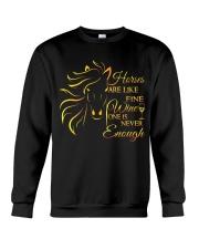 Horses Are Like Fine Wine Crewneck Sweatshirt thumbnail