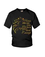 Horses Are Like Fine Wine Youth T-Shirt thumbnail