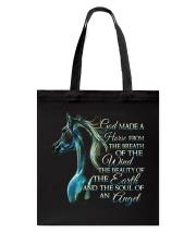 God Made A Horse Tote Bag thumbnail
