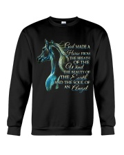 God Made A Horse Crewneck Sweatshirt thumbnail