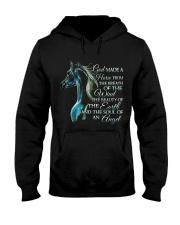 God Made A Horse Hooded Sweatshirt thumbnail