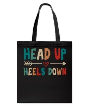 Head Up Heels Down Tote Bag thumbnail