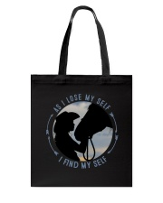 As I Lose My Self Tote Bag thumbnail