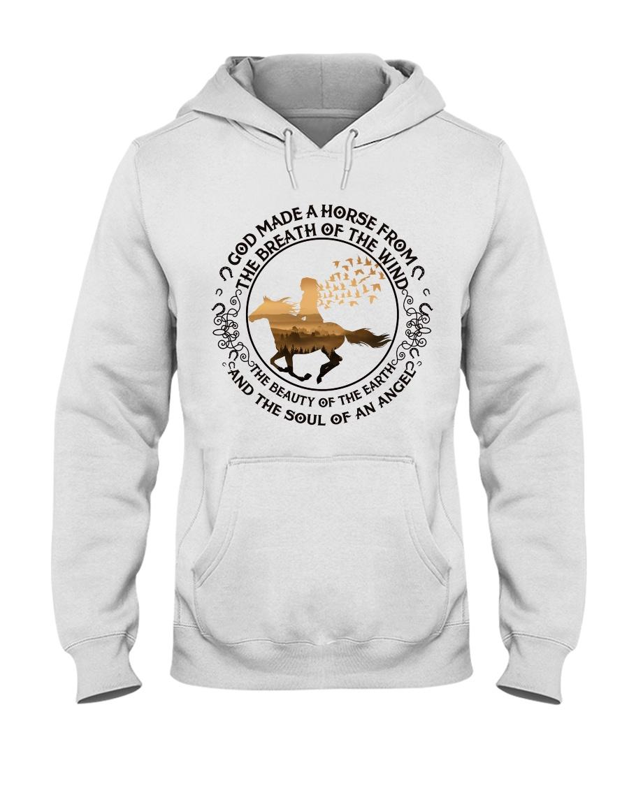 God Made A Horse Hooded Sweatshirt