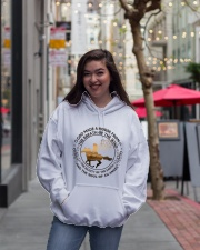 God Made A Horse Hooded Sweatshirt lifestyle-unisex-hoodie-front-2
