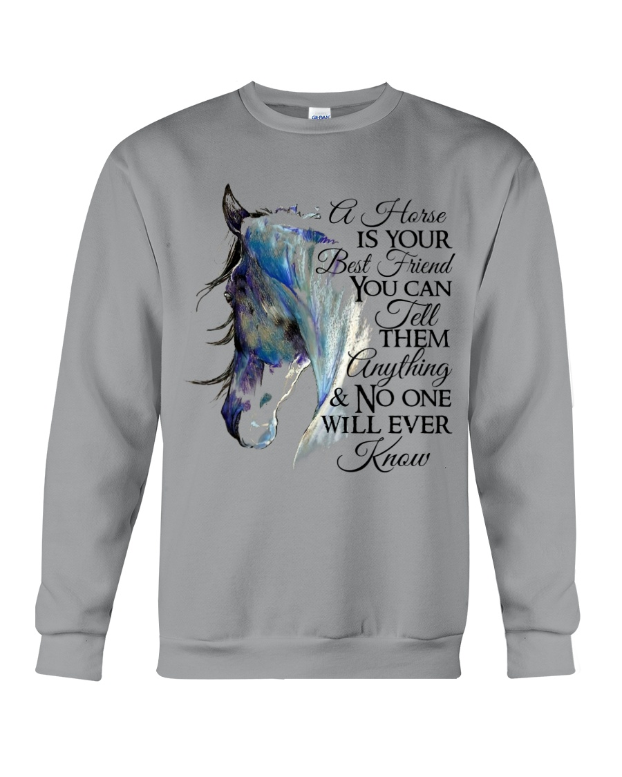 A Horse Is Your Best Friend Crewneck Sweatshirt