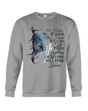 A Horse Is Your Best Friend Crewneck Sweatshirt front