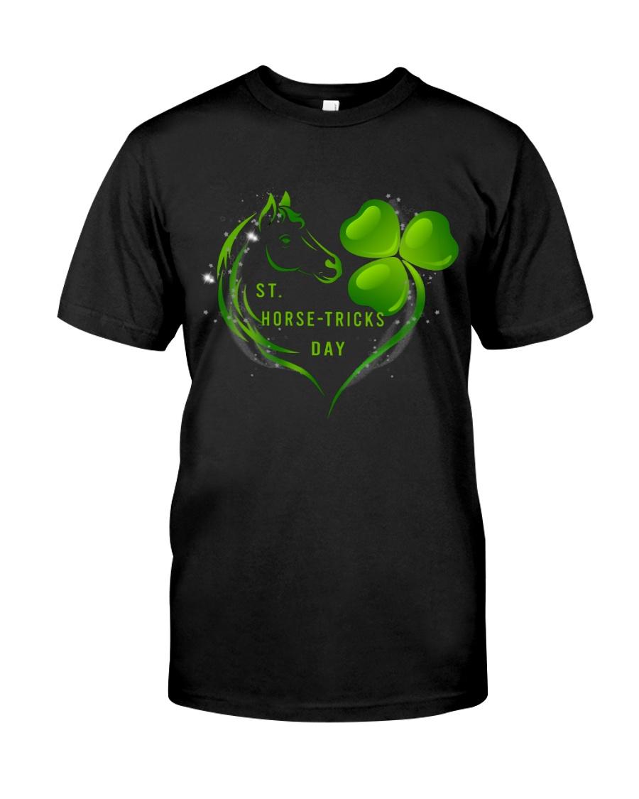 St Horse Tricks Day Classic T-Shirt