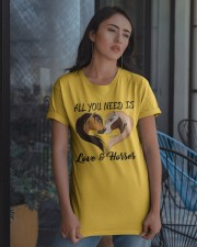 Love And Horse Classic T-Shirt apparel-classic-tshirt-lifestyle-08