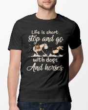 Stop And Go Classic T-Shirt lifestyle-mens-crewneck-front-13