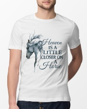 A Little Closer On A Horse Classic T-Shirt lifestyle-mens-crewneck-front-13
