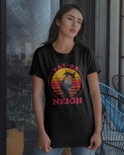 Yay Or Neigh Classic T-Shirt apparel-classic-tshirt-lifestyle-08