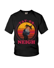 Yay Or Neigh Youth T-Shirt thumbnail