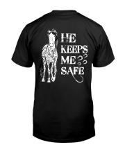 He Keeps Me Safe Classic T-Shirt thumbnail