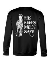 He Keeps Me Safe Crewneck Sweatshirt thumbnail