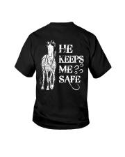 He Keeps Me Safe Youth T-Shirt thumbnail