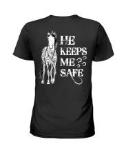 He Keeps Me Safe Ladies T-Shirt thumbnail