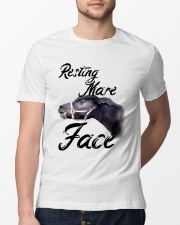 Resting Mare Face Classic T-Shirt lifestyle-mens-crewneck-front-13