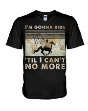 I'm Gonna Ride V-Neck T-Shirt tile