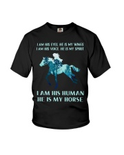 He Is My Horse Youth T-Shirt thumbnail