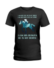 He Is My Horse Ladies T-Shirt thumbnail
