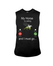 My Horse Is Calling Sleeveless Tee thumbnail