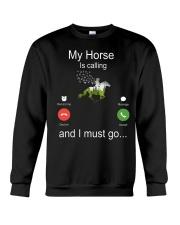 My Horse Is Calling Crewneck Sweatshirt thumbnail