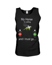 My Horse Is Calling Unisex Tank thumbnail