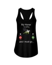 My Horse Is Calling Ladies Flowy Tank thumbnail