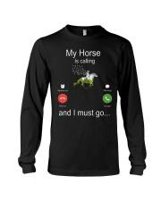 My Horse Is Calling Long Sleeve Tee thumbnail