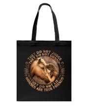 Horses Are True Friends Tote Bag thumbnail