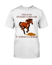 This Is My Human Costume Classic T-Shirt front