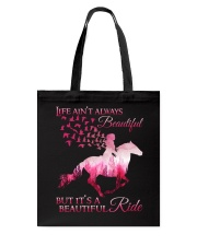 It Is A Beautiful Ride Tote Bag thumbnail