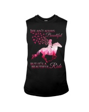 It Is A Beautiful Ride Sleeveless Tee tile