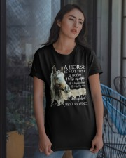 A Horse Is Not Just A Horse Classic T-Shirt apparel-classic-tshirt-lifestyle-08