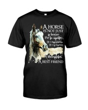 A Horse Is Not Just A Horse Classic T-Shirt front