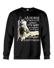 A Horse Is Not Just A Horse Crewneck Sweatshirt thumbnail