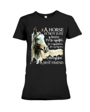 A Horse Is Not Just A Horse Premium Fit Ladies Tee thumbnail