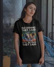 Go Riding Classic T-Shirt apparel-classic-tshirt-lifestyle-08