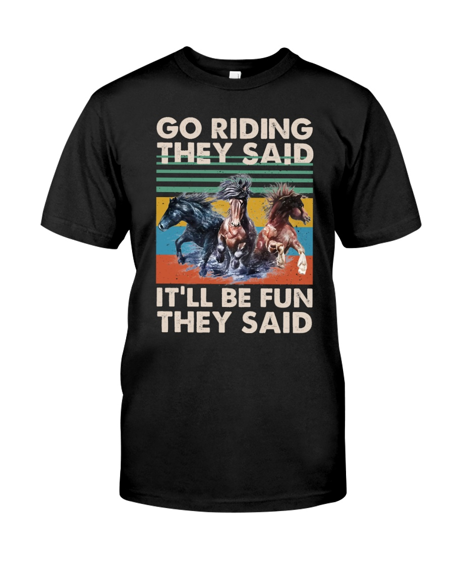 Go Riding Classic T-Shirt