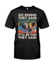 Go Riding Classic T-Shirt front