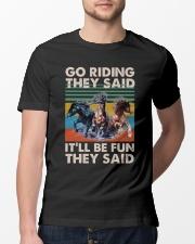 Go Riding Classic T-Shirt lifestyle-mens-crewneck-front-13