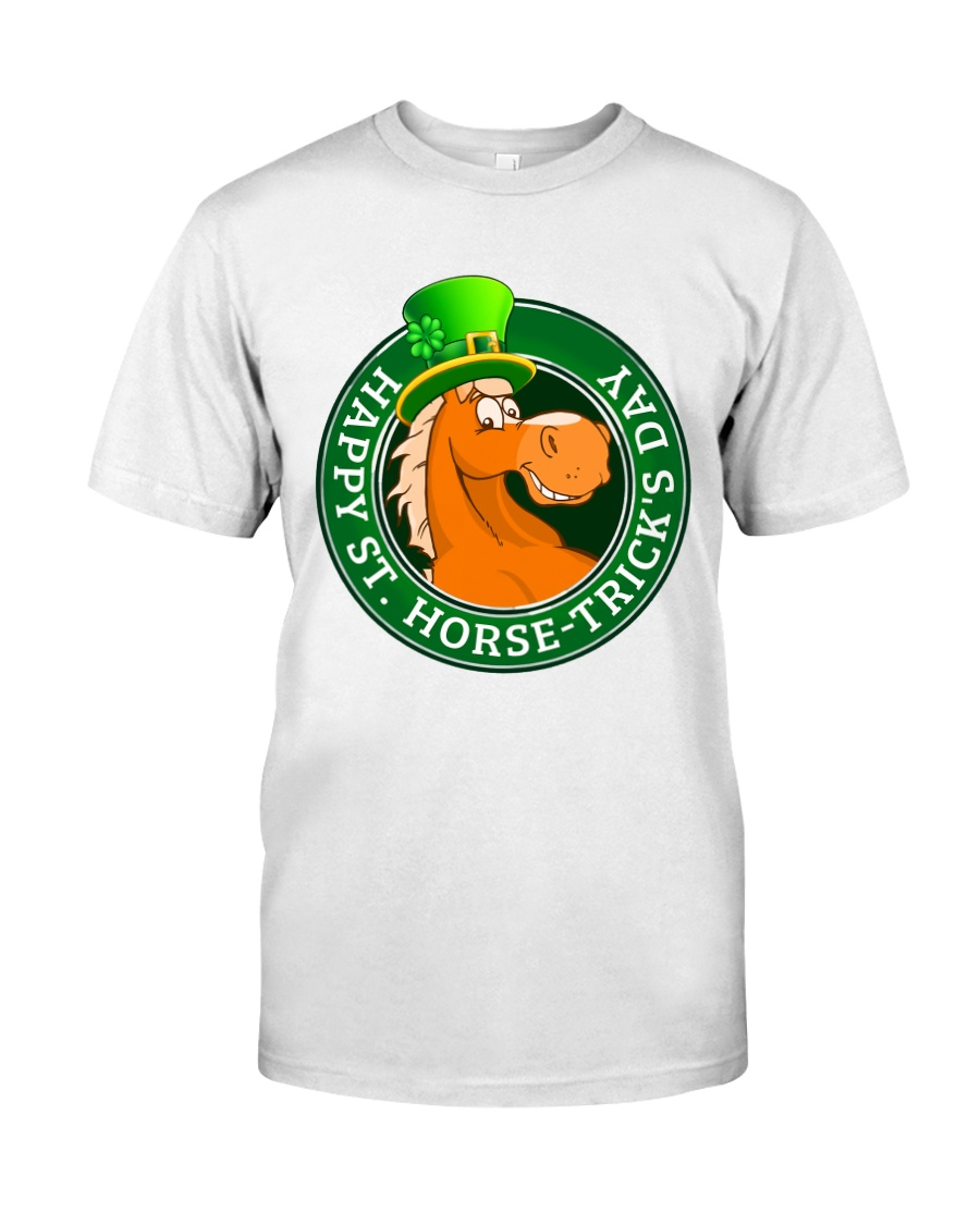 Happy St Horse Trick's Day Classic T-Shirt