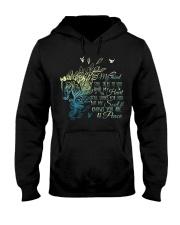 My Mind Still Talks To You Hooded Sweatshirt thumbnail