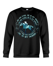 He Is My Horse Crewneck Sweatshirt thumbnail